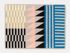 'Folk' rug by Sylvain Willenz for Chevalier Édition