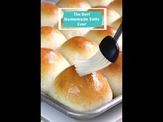 Perfectly soft homemade dinner rolls, a recipe that took 5 years to perfect! These really are the best homemade dinner rolls ever!