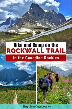 The Rockwall Trail in Canada's Kootenay National Park is a gorgeous multi-day backpacking trip through the heart of the Rocky Mountains. Get all the info you need to plan a backpacking trip on the Rockwall Trail. Use this Rockwall Trail guide to hike and camp on the Rockwall Trail near Banff, Canada. How to hike the Rockwall Trail. Waterton Lakes National Park, Canyonlands National Park, National Parks, Backpacking Tips, Hiking Tips, Columbia Outdoor, Travel Tips, Travel Destinations, Banff Canada