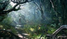 18th Century Caribbean (North Carolina Jungle), Assassin's Creed IV: Black Flag, 2013.