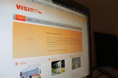 """Página web de """"Visión"""" Página de profesionales rotulistas."""