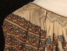 Two Ladies, Gauze Dress, Black Silk, Boho Shorts, Ethnic, Cross Stitch, Costumes, Romania, Lady
