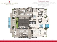 Lobby Sofa Crossword Fizz Foam Fold Out Bed Corner Suite Key Plan For Four Seasons Hotel Guangzhou ...