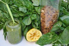 Ricotta, Sauce Pesto, Chou Rave, Monkey Business, Spinach, Lavender, Beans, Vegetables, Food