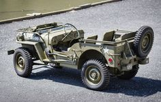 """""""Found in crate"""" 1944 Willys MB Jeep to cross  