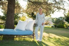 Our latest in lounge wear, coming this Fall. The softest cotton, delicate pattern and casual luxury.   Everyday essentials from KVH for Kelly Van Halen.