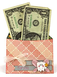 Let the Tooth Fairy leave behind a cute pocket envelope in trade for those baby teeth!