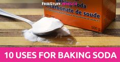 You'd be surprised how many uses there are for baking soda. From cleaning around the house, to baking, there are a ton of different ways you can use one simple ingredient. Baking S