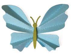 """Lifestyle Crafts DR-0296 """"Butterfly"""" 1 4x4  Cutting Die 3.32"""" x 2.78"""" NEW #LifestyleCrafts"""