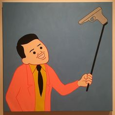 Taking #selfie with gun targeting himself by #JoanCornella @sirjoancornella  #everydayart #1日1アート