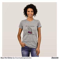 Shar Pei Glitter T-Shirt