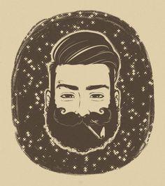 Bearded lumberjack