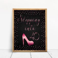 Items similar to Stepping into Happy Birthday Sign, Cheers to 70 Years, Anniversary Sign, Confetti Gold Party Decoration, Birthday décor on Etsy Happy 80th Birthday, Birthday Cheers, Gold Birthday Party, Happy 40th, Birthday Crafts, Birthday Bash, Gold Party Decorations, Birthday Decorations, As You Like