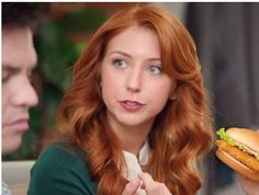 Millennials would rather eat fast-casual than fast food. But burger chain Wendy's is intent on luring the new generation of consumers away from Chipotle and Panera Bread. Wendy's Social Media, Chicken Club, Eating Fast, Panera Bread, Old Actress, Redheads, Chipotle, Chain