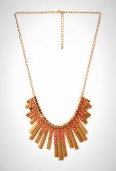 This art deco necklace is a steal at just $10.