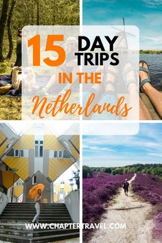 As I'm a Dutchie myself, born and raised in Rotterdam, I decided to dedicate an article to 15 cool day trips in the Netherlands. And luckily, the Netherlands is a tiny country, meaning it's easy to visit any place in a day. In just a few hours you can drive from one side to the other side of the country! Plus, there is a good public transport system here: if you hop on the train you can basically see Holland in one day.