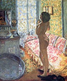Pierre Bonnard, Nude Against the Light, 1908