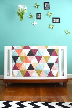 NEW leonora triangle blanket exclusive to iviebaby by iviebaby, $88.00