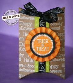 halloween pillow box