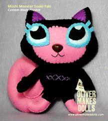 ~ cute Moshi Monster plushie ~