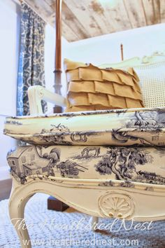 It's a Toile World After All | The Heathered Nest