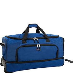 Travel Duffel Bag God Bless America Flower Frame Waterproof Lightweight Luggage bag for Sports Gym Vacation