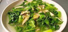 Immune-Boosting Chicken & Ginger Soup