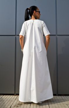 Excited to share the latest addition to my shop: White Plus Size Maxi Dress/ Boho maxi dress/ Women's Clothing/ Kaftan Maxi dress/ Caftan Long dresses/ Cotton Boho Dress by YoLineXL - Plus Size Womens Clothing, Plus Size Fashion, Clothes For Women, Plus Size Maxi Dresses, Plus Size Outfits, Long Dresses, Tunic Dresses, Summer Dresses, Dress Jackets