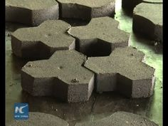 Waste to Wealth : Recycled plastic paving stone - YouTube
