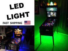 Attila the Hun Pinball Machine MOD - under cabinet light - SUPER BRIGHT part kit
