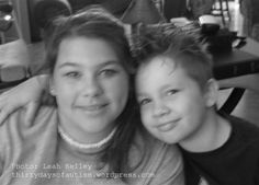 (Nika and H) Siblings, stress, and love: A big sister's view of autism