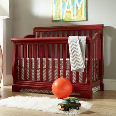 Built To Grow Convertible Sleigh Crib