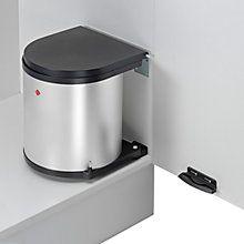 buy wesco built in round kitchen bin silver 13l online at