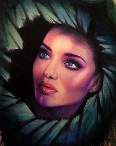 Colour Prisma Pencil Drawing By Kristen Sorrenson