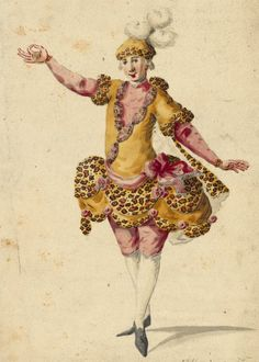 Costume drawings and sketches for the operas performed in Paris and Versailles 1739 à 1767 Fancy Costumes, Carnival Costumes, Versailles, Baroque Art, French History, Human Poses, 18th Century Fashion, Theatre Costumes, Ballet