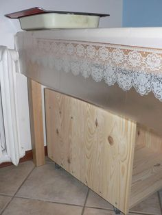 IKEA Hackers: Rast Nightstand Mobile Kitchen Storage