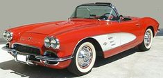 1961 Corvette -- the one used in the TV show, Route 66