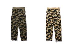 A Bathing Ape Camo Sweats