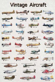 Aircraft zero vintage