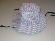 Cappello da pescatore in cotone con tesa larga