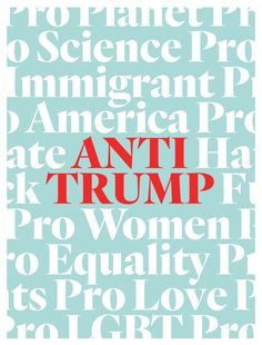 Anti-Trump by Eight Hour Day for Signs of Resistance Protest Sign Show 4/19/17 eighthourday.com Protest Signs, Calm, Posters, Artists, Design, Poster, Billboard, Artist