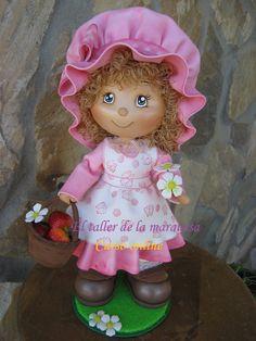 Pronto llegará en nuevo curso, una preciosa muñeca que podrás realizar en tu casa y a tu ritmo. Ya os informaré en cuanto este todo listo.  ...