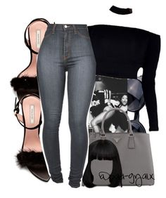 """""""$$$"""" by xbad-gyalx ❤ liked on Polyvore featuring Prada and Nina Ricci"""