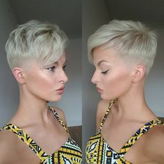 100 Short Hairstyles for Women: Pixie, Bob, Undercut Hair All Hairstyles, Undercut Hairstyles, Short Hairstyles For Women, Undercut Pixie, Undercut Fade, Short Pixie Haircuts, Short Hair Cuts, Short Hair Styles, Pixie Cuts