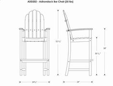 Tall Deck Chair Plans Practicality Of A Dining Chair