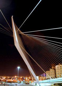 Bridge of Strings - Jerusalem, Israel