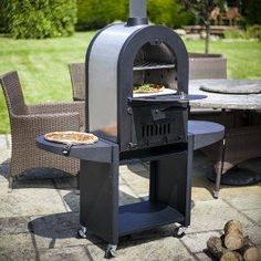 Barbecue Pierre Gargano Avec Four Pizza Id Es Jardin