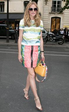 Olivia Palermo style and outfit ideas: ideas for wearing prints