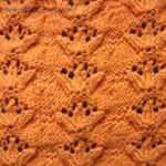 pattern central Trefoil