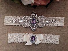 Wedding Lace Garter Set
